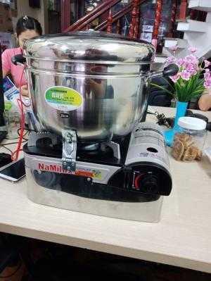 Máy Làm bắp rang bơ bằng gas Tấn Phát tiện dụng - giá rẻ