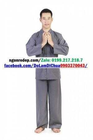 Đồ Lam Đi Chùa - Kiểu La Hán Cho Nam - Nữ Và Trẻ Em