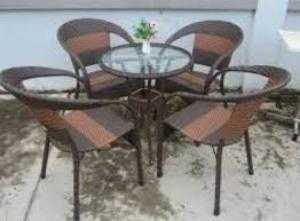 Bàn ghế cafe sân vườn m1