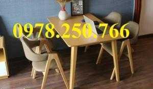 Bàn ghế ăn giá rẻ HCM, ghế nhựa lót đệm quận 1