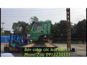 Bán Cabin Xe Tải Howo, A7, Sino Truck, Hoyun...