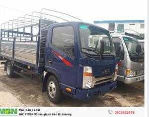 Cần bán xe tải JAC 4T95/4.95 tấn giá rẽ uy tín trên toàn quốc