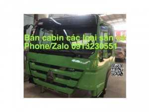 Bán Cabin Xe Ben Howo, Chenglong, Dongfeng