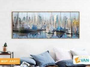 Bộ tranh treo tường phong cảnh nghệ thuật AA511