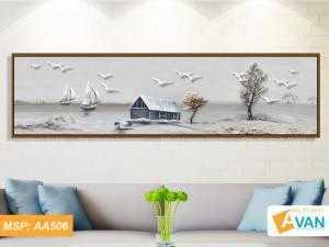 Bộ tranh treo tường phong cảnh nghệ thuật AA506