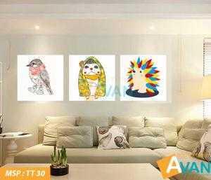 Bộ tranh nghệ thuật treo phòng khách TT30