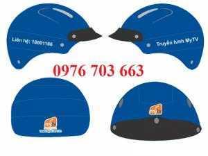 Xưởng sản xuất nón bảo hiểm giá rẻ, nón bảo hiểm in logo thương hiệu
