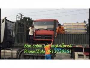Bán cabin xe tải Dongfeng, xe ben Dongfeng...