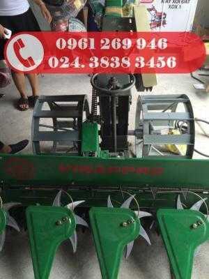 Bán máy gặt lúa xếp dãy hàm cắt 1,2m; 1,6m giá tốt nhất