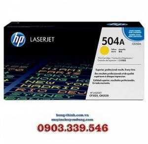 Mực In HP504A Yellow LaserJet Toner Cartridge (CE252A)