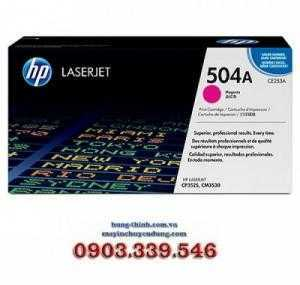 Mực In HP504A Magenta LaserJet Toner Cartridge (CE253A)