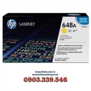 Mực In HP648A Yellow LaserJet Toner Cartridge (CE262A), (CP4025, CP4525)