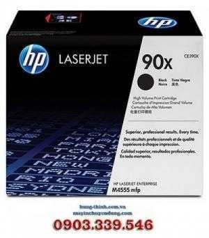 Mực In HP 90X Black LaserJet Toner Cartridge (CE390X), (M601, M602, M603)