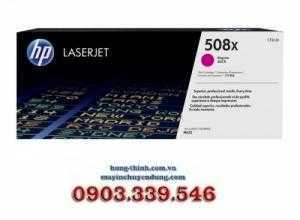 Mực In HP508X, (CF363X) High Yield Magenta Original LaserJet Toner Cartridge, (M553X, M553DN, M553N, M577Z, M577DN, M577F)