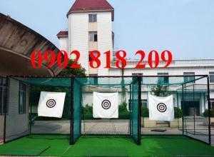 Lắp đặt khung lưới chơi golf tại nhà