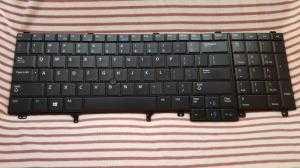 Bàn phím Laptop Dell Latitude E6520 -E6530 - E6540 - có đèn bàn phím | Keyboard Backlit Dell E6530