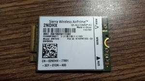 Card wwan 4G Gobi5000 EM7355 DW5808e - WWAN 4G LTE Card 2NDHX