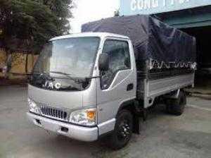 Gia xe tải jac 2t4 thùng bạt 3,72m