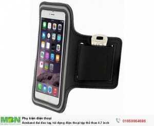 Armband đai đeo tay, túi đựng điện thoại tập thể thao 4.7 inch