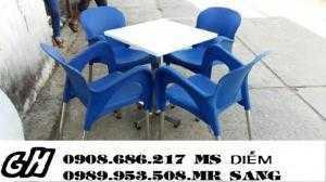 Chuyên sản xuất ghế nhựa giá rẻ hh77