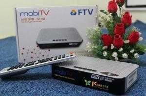 Đầu Thu Truyền hình số mặt đất DVB T2 FTV CFT...