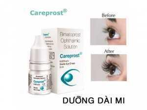 Thuốc Dưỡng Dài Mi Ấn Độ Careprost (Chính Hãng)