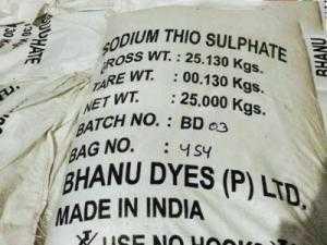 Sodium Thiosulfate - Chất trung hòa chlorine