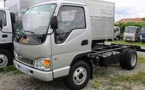 Xe tải Jac 2.4 tấn chassi chất lượng cao, xe tải nhẹ vào thành phố giá rẻ, cam kết giá tốt tại TPHCM