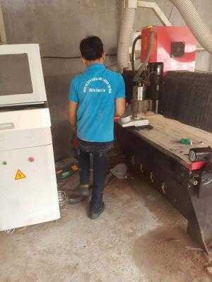 Sửa máy điêu khắc gỗ tại Bình Phước chuyên nghiệp uy tín