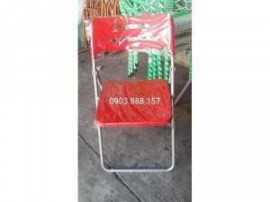 Ghế nhựa gấp cafe thanh lý hàng tồn