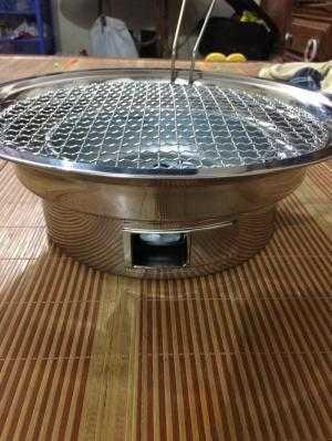 Bếp nướng inox âm bàn giá rẻ cho quán lẩu nướng