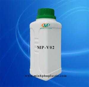 Chai nhựa 500ml đựng hóa chất, chai nhựa 1l, chai nhựa hdpe, chai nhựa