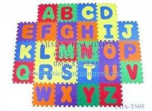 Thảm xốp lót sàn chữ cái ABC cho bé giá rẻ nhất thị trường