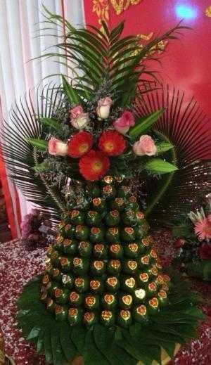 Mâm quả cưới rồng phụng tại Ninh Thuận