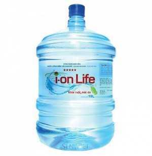 Nước ion life 19 lít