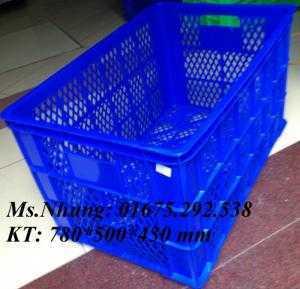 Bán thùng nhựa, sóng nhựa dùng trong may mặc