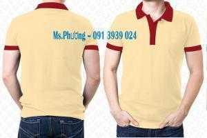 Áo thun vải mè in logo theo yêu cầu. áo thun vải mè giá rẽ