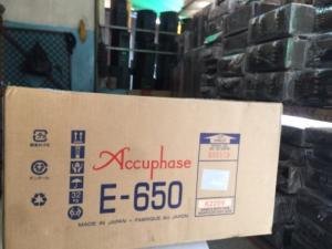 Ampli Accuphase E650hàng bãi tuyển chọn về, đẹp long lanh