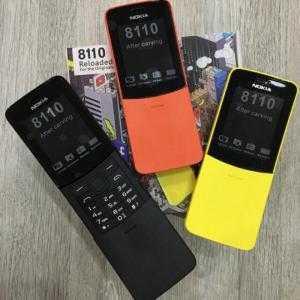 Điện thoại Nokia 8110 Trái chuối Copy New Hot 2018 Fullbox