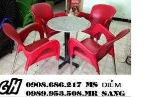 Ghế nhựa cafe giá rẻ nhất hh98