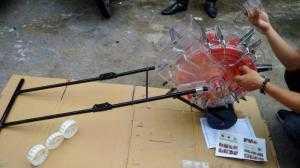 Máy gieo hạt kết hợp bón phân VNGH-999 1 hàng
