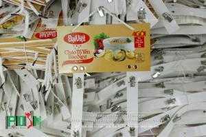 Bảng treo sản phẩm cháo tổ yến Đại Việt