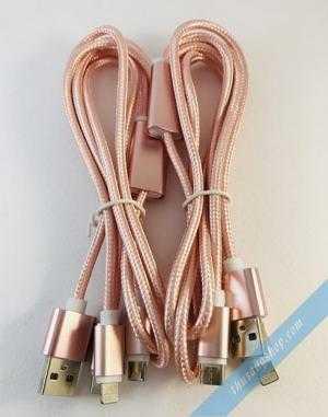 Cáp 3 in 1 dây dù dài 1 mét siêu chắc