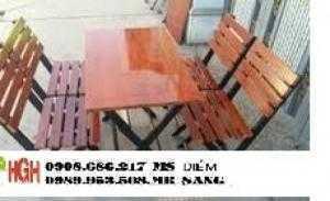 Chuyên sản xuất bàn ghế gỗ giá rẻ nhất hh78