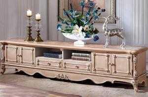 Kệ tivi cổ điển | tủ kệ tivi tân cổ điển thiết kế theo yêu cầu đẹp