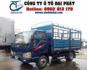Cần bán xe tải jac 2.4 tấn thùng mui bạt động...