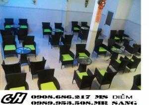 Bàn ghế cafe giá rẻ hh80