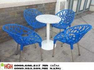 Ghế nhựa cafe giá rẻ hgh82