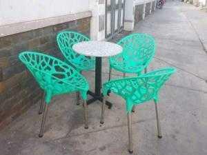 Bàn ghế nhựa cafe cao cấp