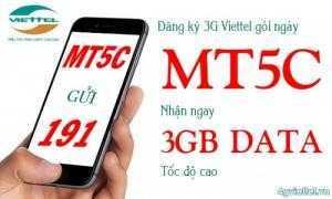 SIM 4G Viettel MT5C Tặng 3GB/ngày chỉ với 5000đ Đăng Ký